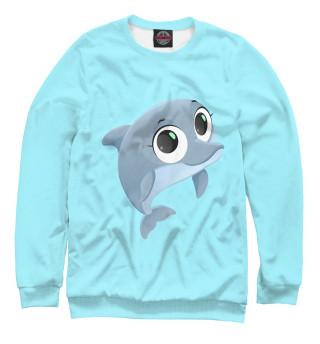 Одежда с принтом Дельфин (373109)