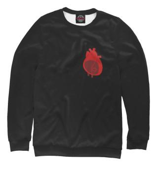 Одежда с принтом Сердце