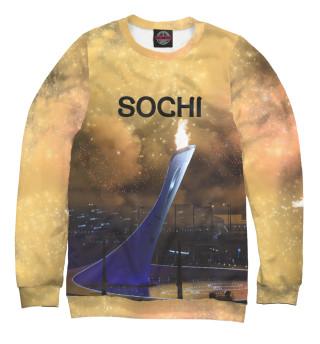 Одежда с принтом Олимпийский огонь