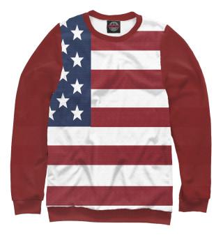 Одежда с принтом Америка