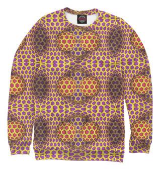 Одежда с принтом Оптическая иллюзия