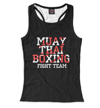 Майка борцовка женская Muay Thai Boxing (5005)