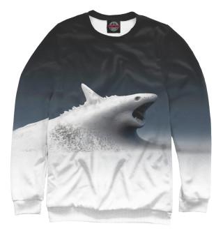 Одежда с принтом Snow shark