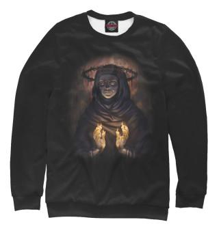 Одежда с принтом Темная монашка