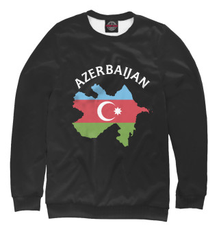 Одежда с принтом Азербайджан (305838)