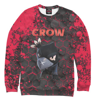Одежда с принтом Brawl Stars Crow