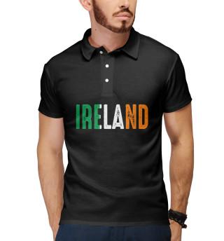 Поло мужское IRELAND - ИРЛАНДИЯ