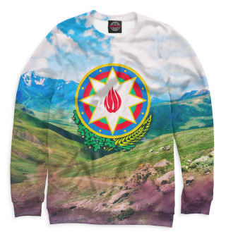 Одежда с принтом Азербайджан (373708)