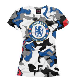 Футболка женская Chelsea (6219)