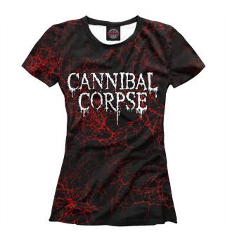 Футболка женская Cannibal Corpse (3055)
