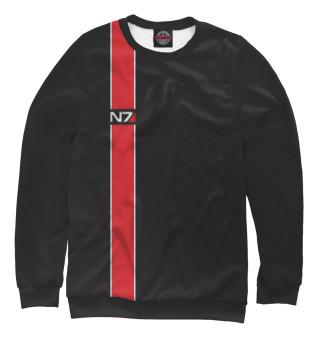 Одежда с принтом Mass effect. N7