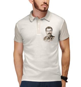 Поло мужское Сталин (9619)