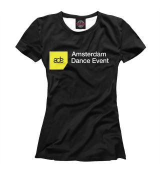 Футболка женская Amsterdam Dance Event