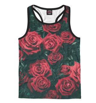 Майка борцовка мужская Розы (2215)