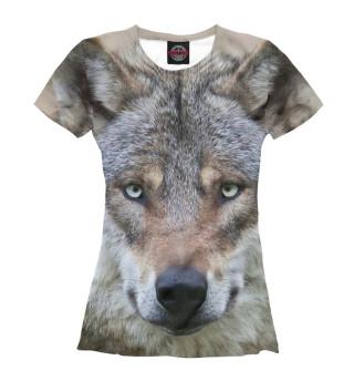 Футболка женская Wolf