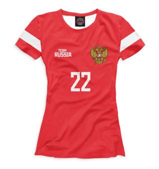 Футболка женская Сборная России Дзюба