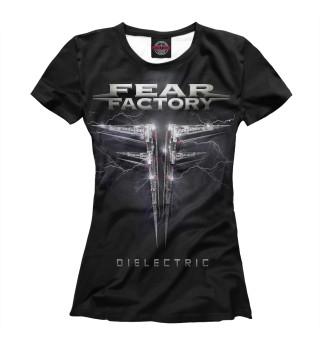 Футболка женская Fear Factory (9371)