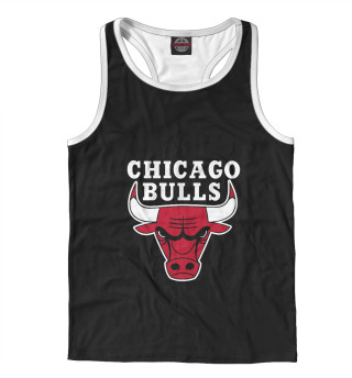 Майка борцовка мужская Chicago Bulls