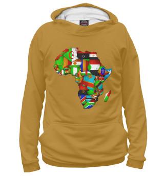 Худи женское Африка (5488)