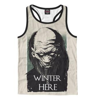 Майка борцовка мужская Winter Is Here