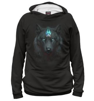 Худи женское Волк Альфа
