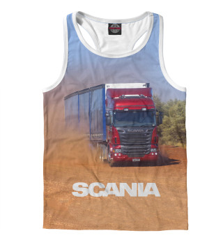 Майка борцовка мужская Scania (9594)
