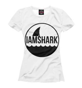 Футболка женская Shark
