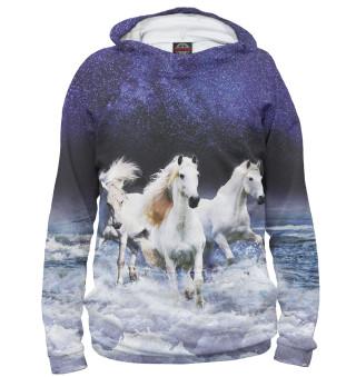 Худи женское Лошади (5611)