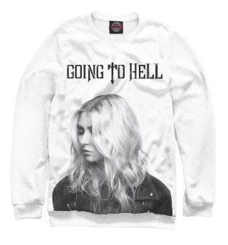 Одежда с принтом Going To Hell