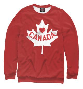 Одежда с принтом Canada