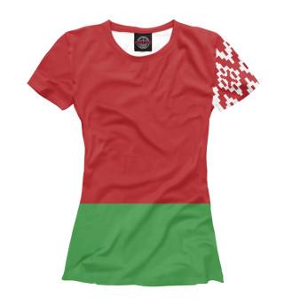 Футболка женская Символика Беларуси