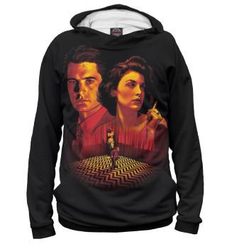 Худи женское Twin Peaks