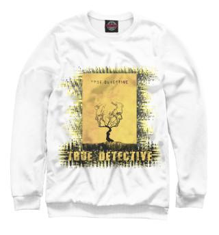 Одежда с принтом True detective (yellow theme)
