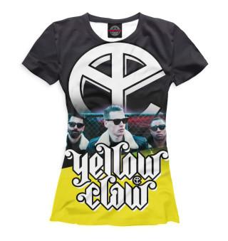 Футболка женская Yellow Claw (4133)