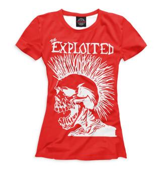 Футболка женская The Exploited