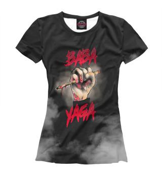 Футболка женская Baba yaga (3651)