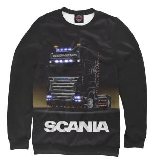 Одежда с принтом Scania