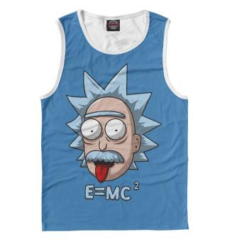 Майка мужская E=mc2