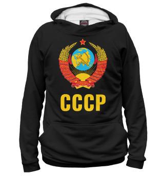 Худи женское СССР черная