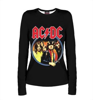 Лонгслив  женский AC/DC (4922)