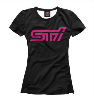 Футболка женская STI