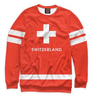 Одежда с принтом Сборная Швейцарии (241465)