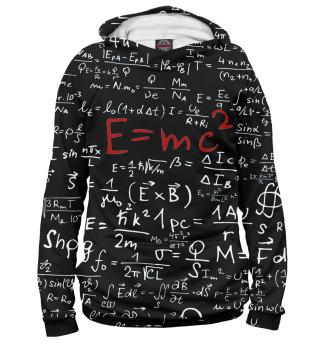 Худи мужское E=mc