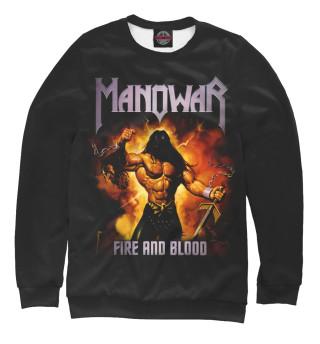 Одежда с принтом Manowar (432410)