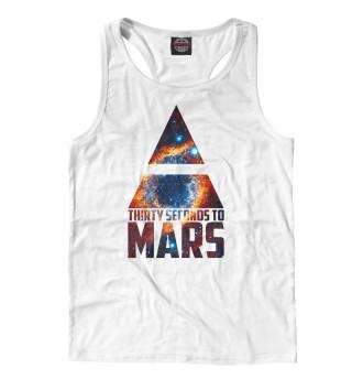 Майка борцовка мужская 30 Seconds to Mars (2706)