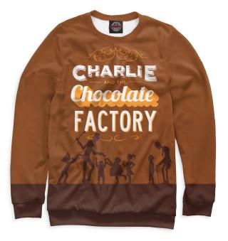 Одежда с принтом Чарли и шоколадная фабрика