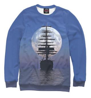 Одежда с принтом Ship boat