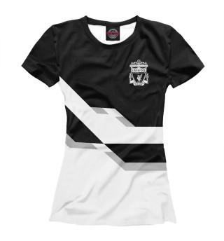 Футболка женская FC Liverpool (5673)