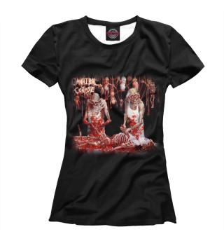 Футболка женская Cannibal Corpse (9081)