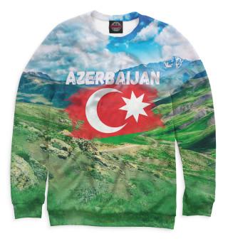 Одежда с принтом Азербайджан (724615)